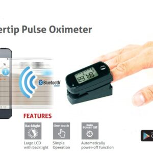 SIFHEALTH-5 3 Bluetooth Fingertip Connected Pulse Oximeter