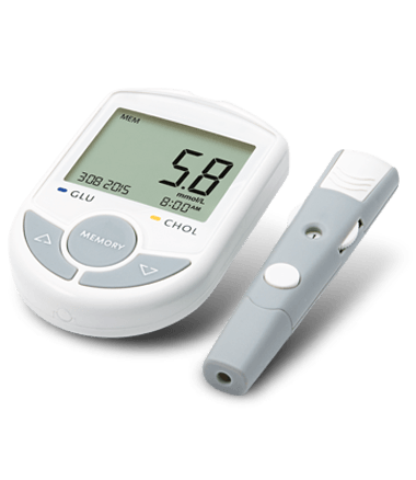 Portable Bluetooth Blood Glucose and Cholesterol Meter