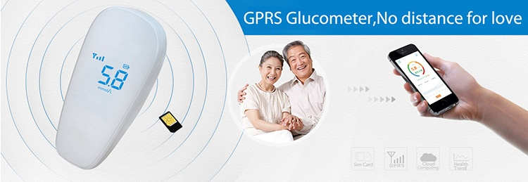 SIFHEALTH-1.3 GSM Glucometer-1