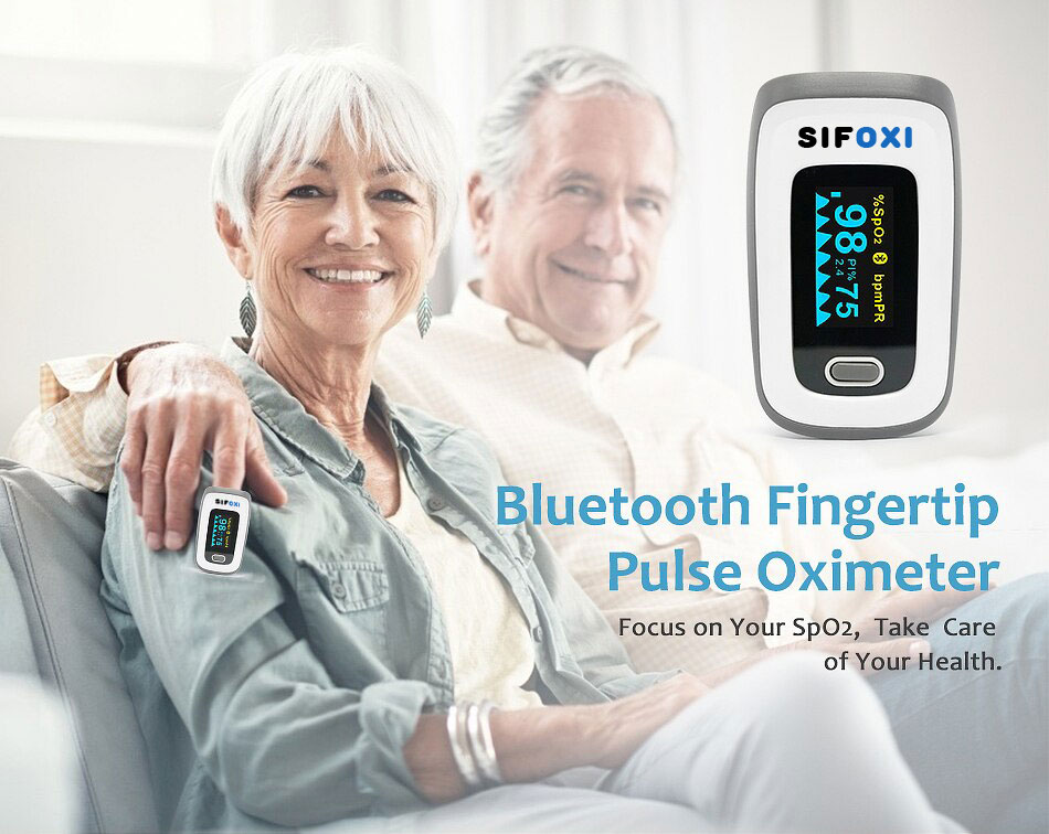 Bluetooth-fingertip-Pulse-Oximeter