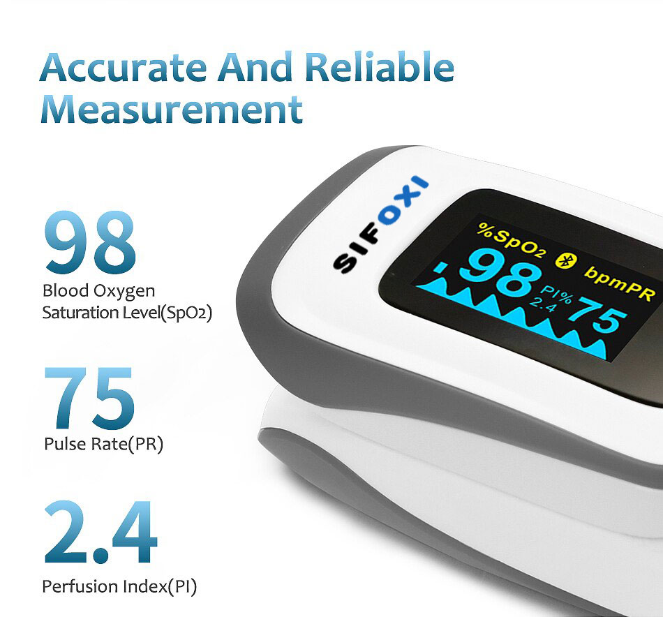 SIFOXI-1.1 - Accurate and Reliable Measurment - Pulse Oximeter