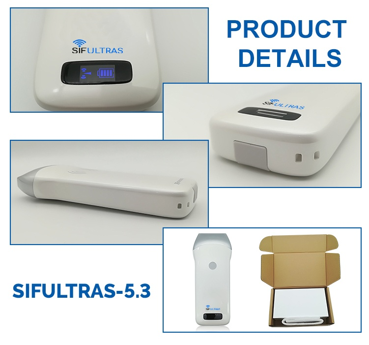 Portable Linear 64 Elements Ultrasound Scanner 7.5MHz SIFULTRAS-5.3 FDA details