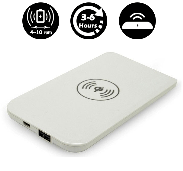 Wireless charger for Ultrasound Scanner