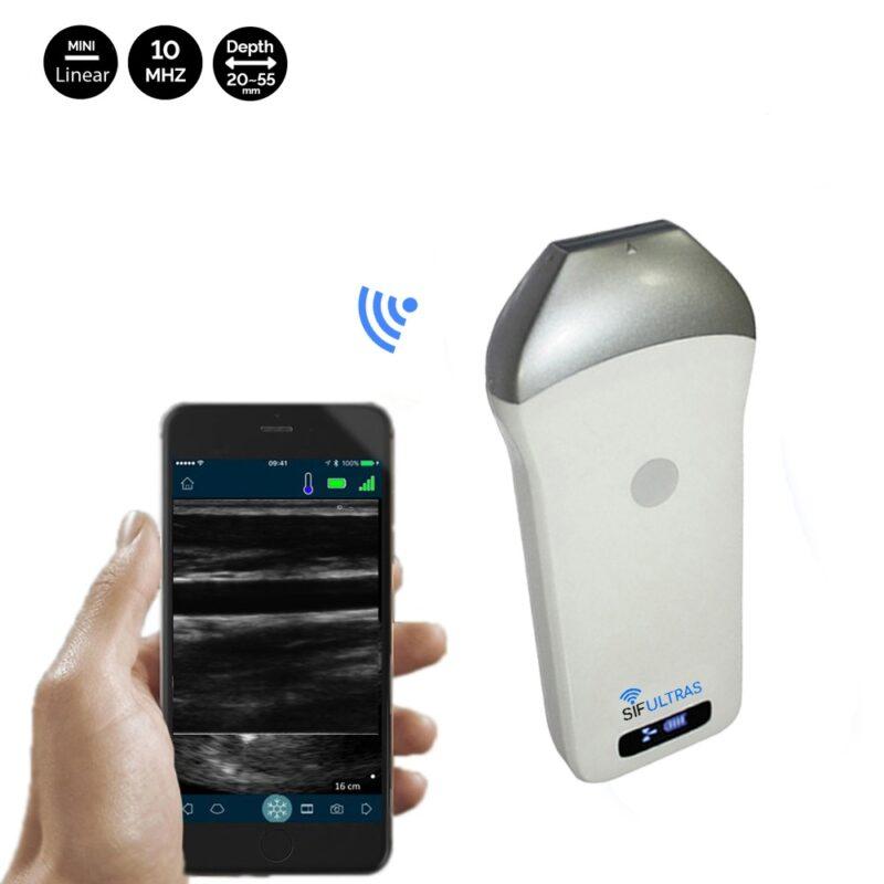 Linear harmonic technology ultrasound scanner