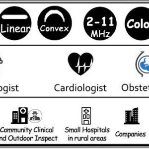 Multi Head Ultrasound Probe SIFULTRAS-8.5 application