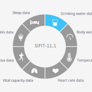 SIFIT-11.1 Smart Connected Water Bottle application