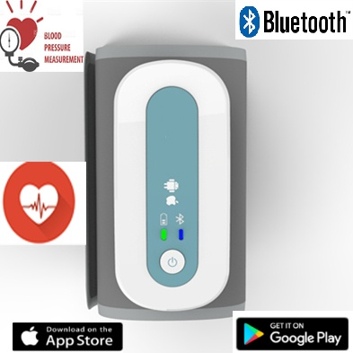 SIFBPM-2.4 Bluetooth Arm Blood Pressure Monitor and Pulse Measurement features