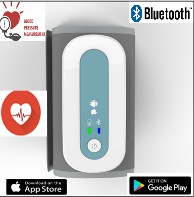 SIFBPM-2.4 Bluetooth Arm Blood Pressure Monitor and Pulse Measurement main