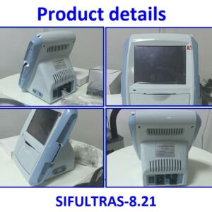 Ophthalmologist ultrasound scanner