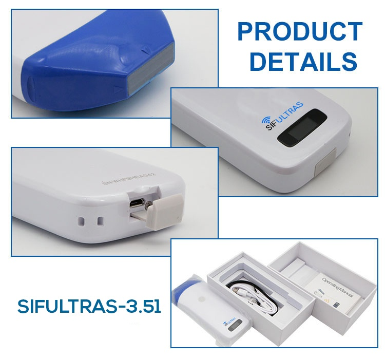 Color Doppler Mini Linear WiFi Ultrasound Scanner SIFULTRAS-3.51 details