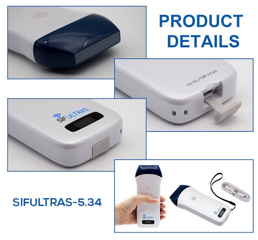 Linear Wireless Ultrasound Scanner SIFULTRAS-5.34 - Color Doppler product details