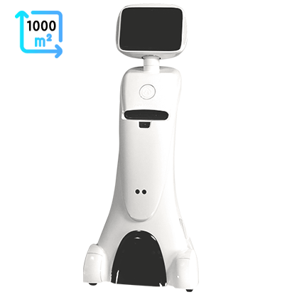 Intelligent telepresence Healthcare Robot - SIFROBOT-1.1 With 1000 m² Navigation Area main pic