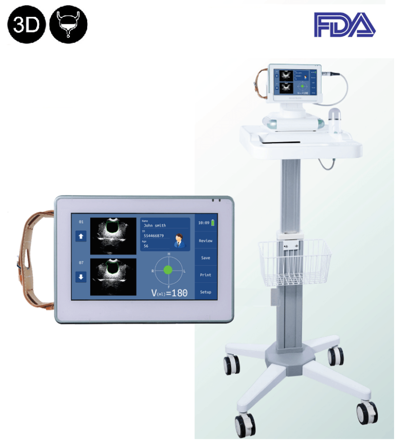 3D bladder ultrasound scanner