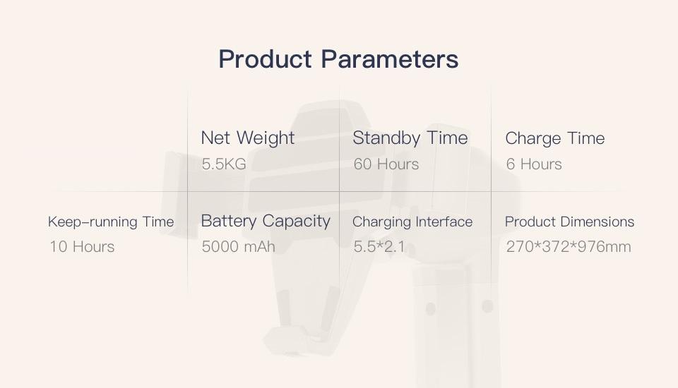 SIFROBOT-4.0 parameters