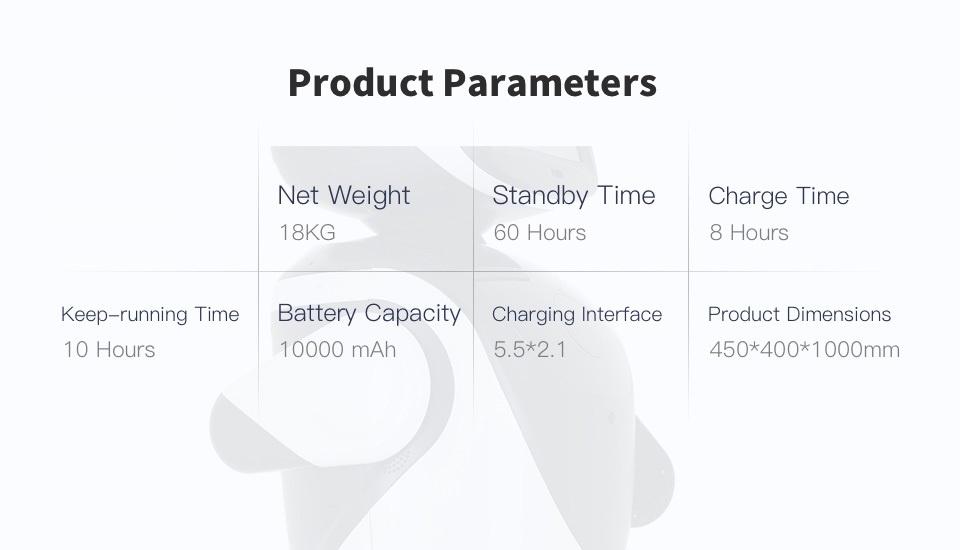 SIFROBOT-4.2 parameters