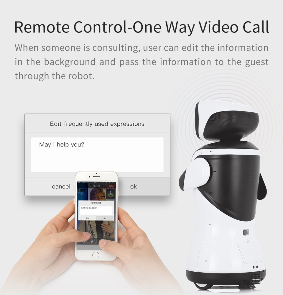 SIFROBOT-4.2 video call
