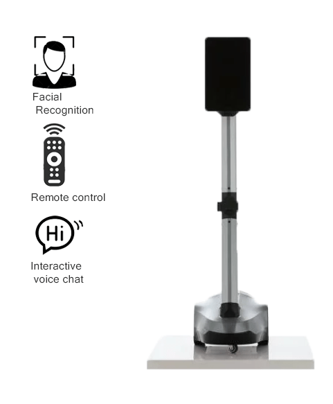 Remote Control Telepresence Robot SIFROBOT-4.1 With Face And Speech Recognition main pic