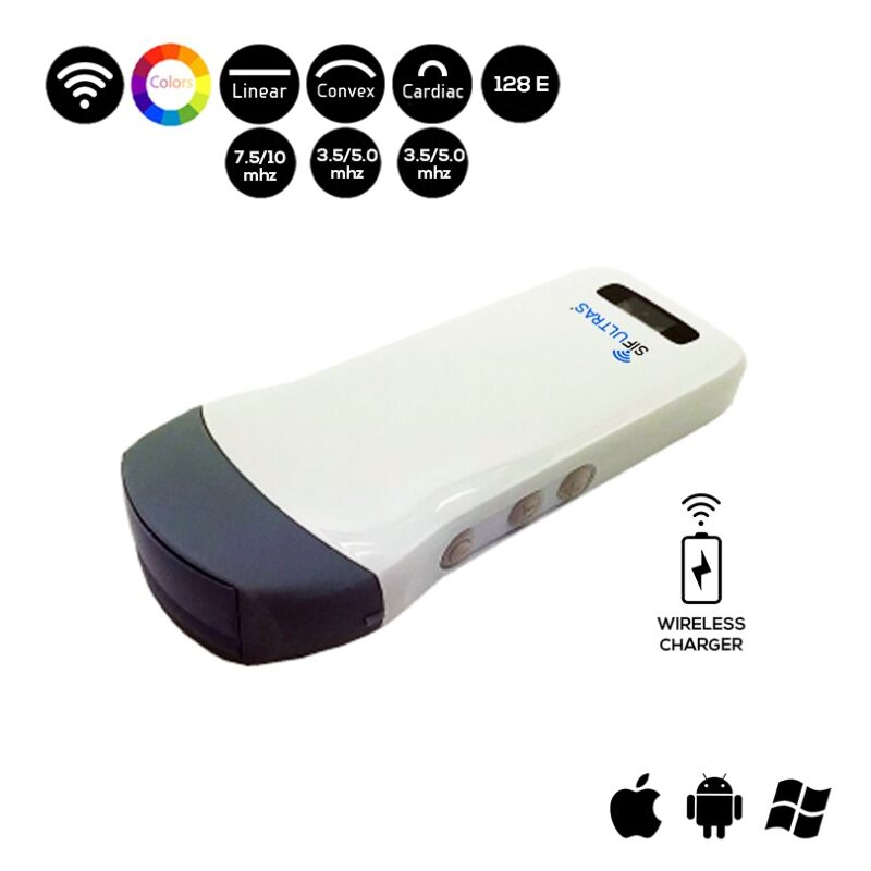 Wireless 3in1 Ultrasound Scanner - SIFULTRAS-3.3
