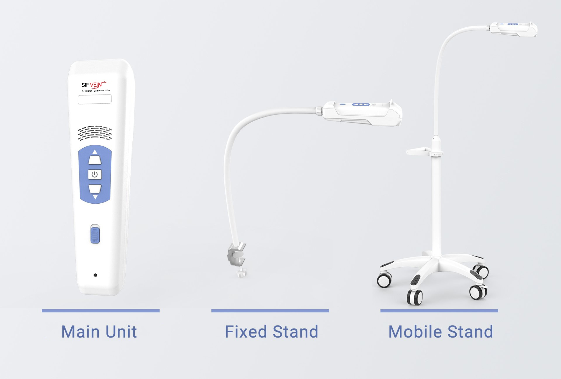 SIFVEIN-7.1 MOBILE STAND OR FIXED STAND OPTIONAL