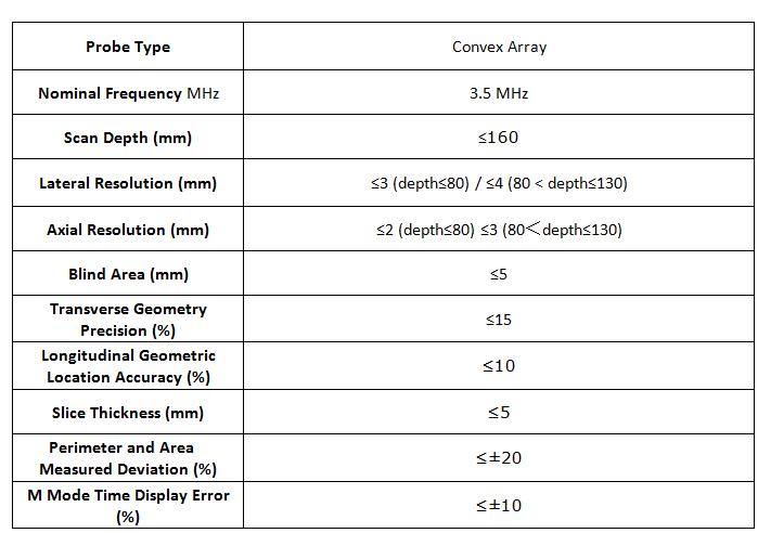 UltrasoundScanner Notebook Color Doppler SIFULTRAS-8.31 specification