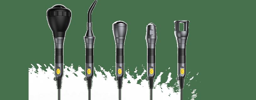 Smart Medical 26.2Watt Diode Laser SIFLASER-3.2  Handpieces