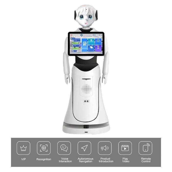 Intelligent-Humanoid-Reception-Telepresence-Robot-SIFROBOT-5.0