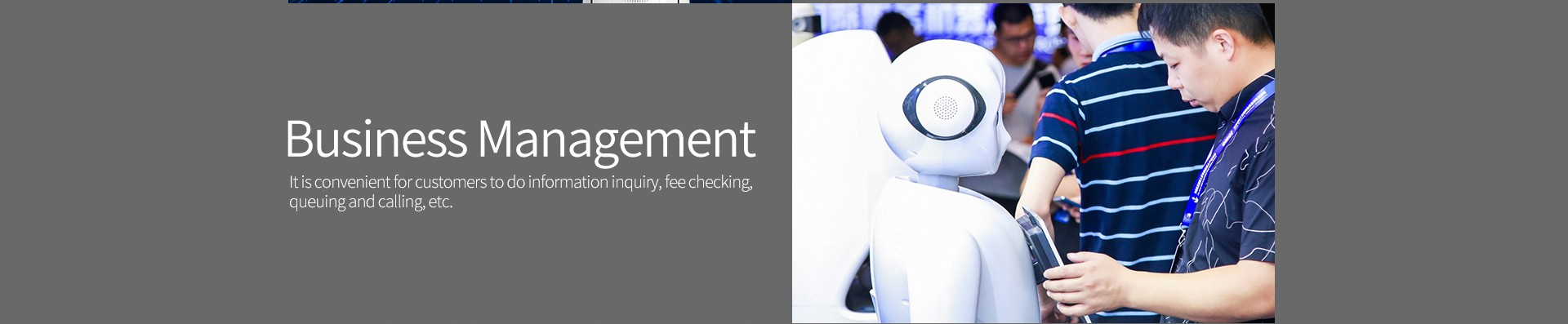 SIFROBOT-5.0 Business management feature