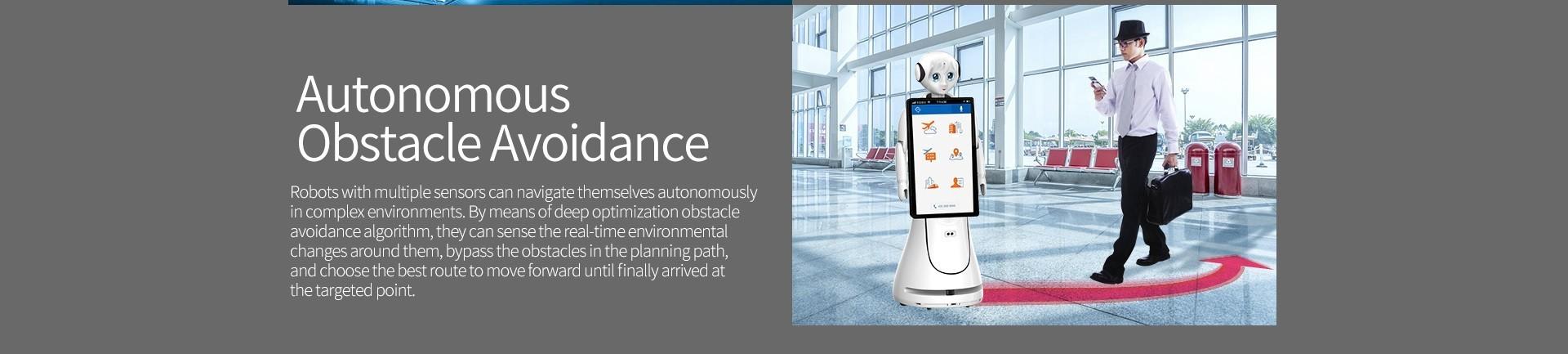 SIFROBOT-5.0 autonomous obstacle avoidance