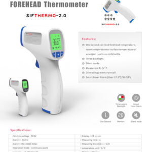 Non-contact-Forehead-Thermometer-FDA-SIFTHERMO-2.0