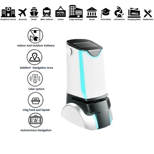 Indoor-Outdoor Delivery Robot: SIFROBOT-6.2