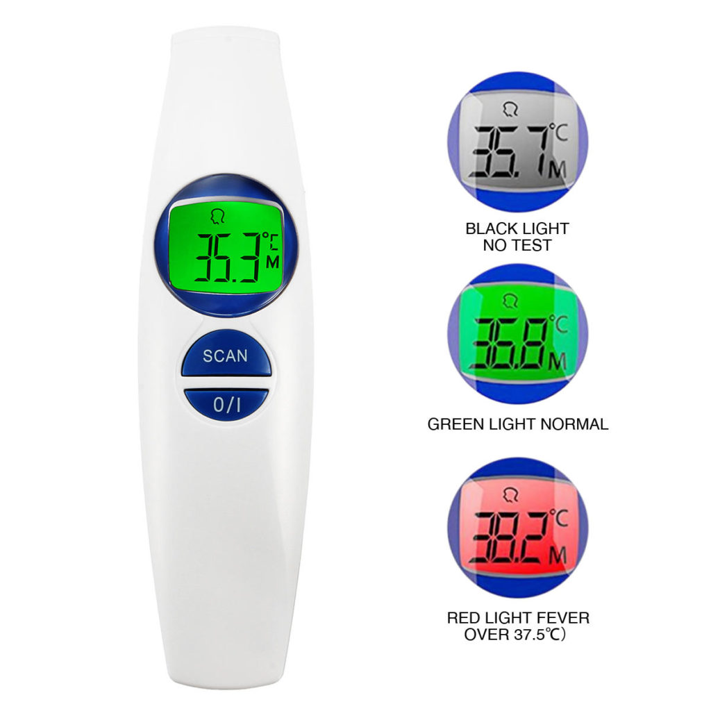 Non Contact Digital Infrared Thermometer FDA SIFTHERMO-2.2