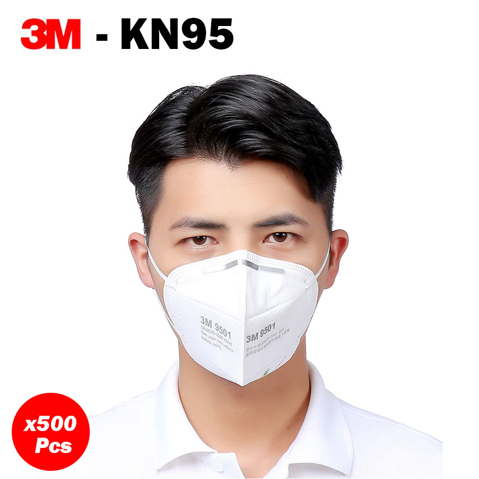 500 units of KN95 Masks - 3M 9501 Anti-dust Masks ,500 units of KN95 Masks - 3M 9501 Anti-dust Masks