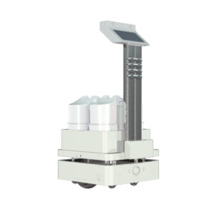 AI Sterilizer Robot, Automatic UV and Spraying Disinfection - SIFROBOT-6.55