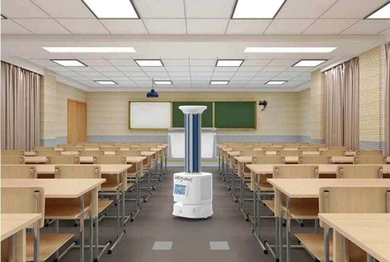UV Light Disinfection Robot: SIFROBOT-6.5 school