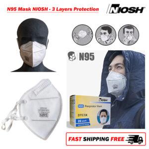 100 x SIFMASK-1.4 N95 mask NIOSH