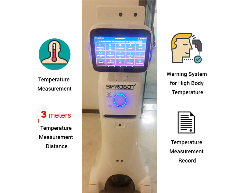Service-Robot-with-temperature-checker
