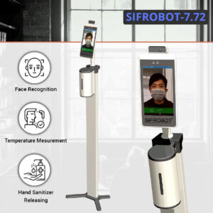 Temperature Measurement and Hand Sanitizer Robot - SIFROBOT-7.72