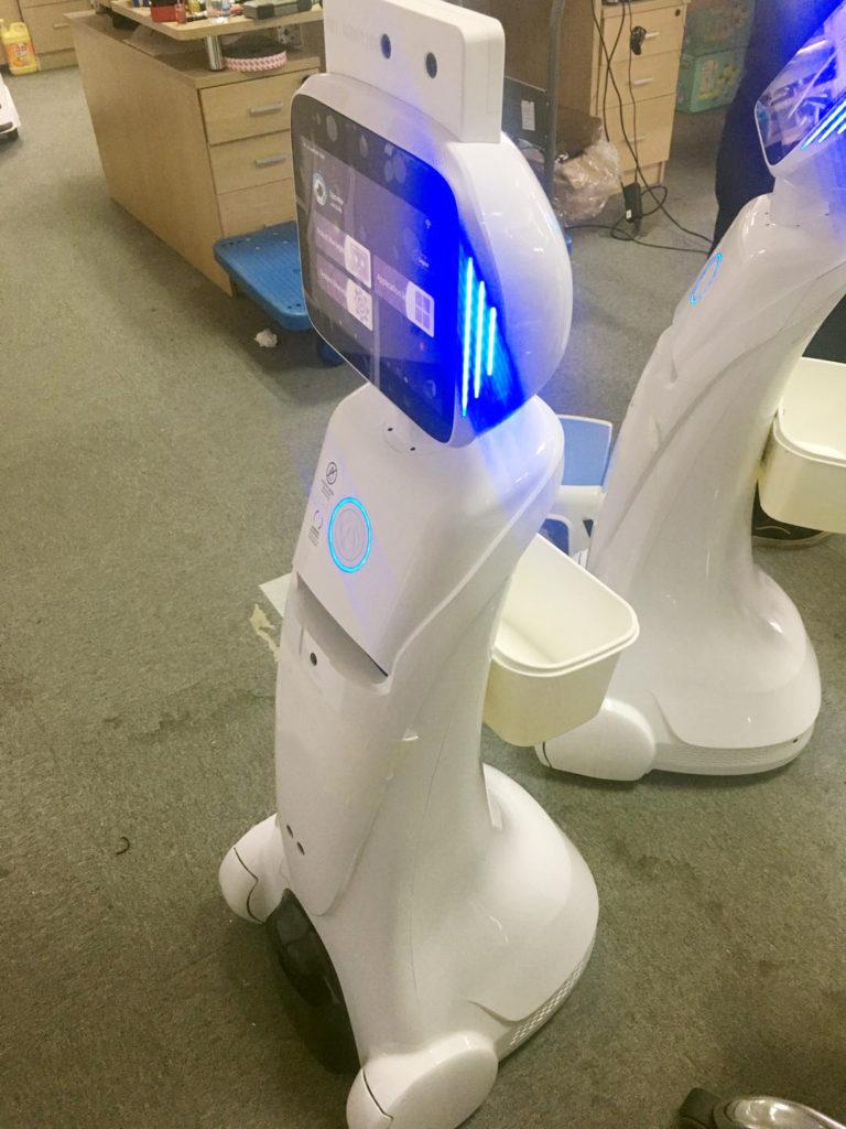 Temperature Screening Infrared Robot SIFROBOT-6.8  Temperature screening