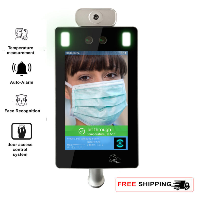 Turnstile Face Recognition Infrared Non-Contact Thermometer - SIFROBOT-7.1 main pic