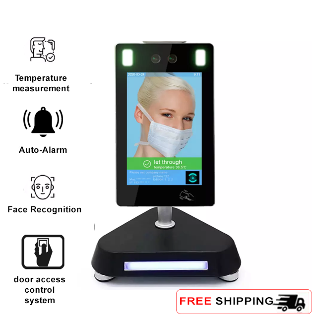 Desk Face Recognition Infrared Non-Contact Thermometer - SIFROBOT-7.3 main pic
