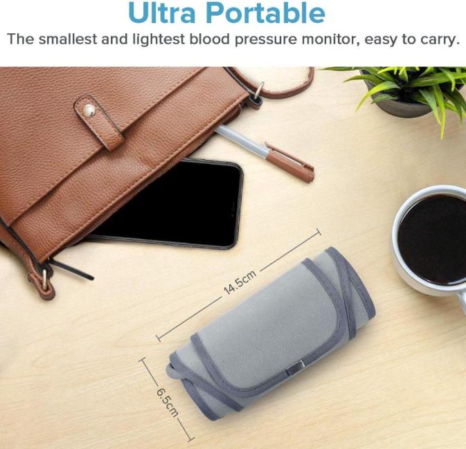 Wireless Upper Arm Portable Blood Pressure Monitor SIFBPM-3.6 ultra portable