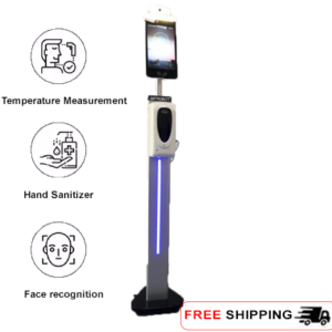 Hand Sanitizer Face Recognition Infrared Non-Contact Thermometer - SIFROBOT-7.71