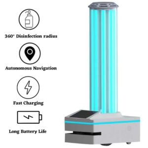 Autonomous UVC Disinfection Robot: SIFROBOT-6.53 main
