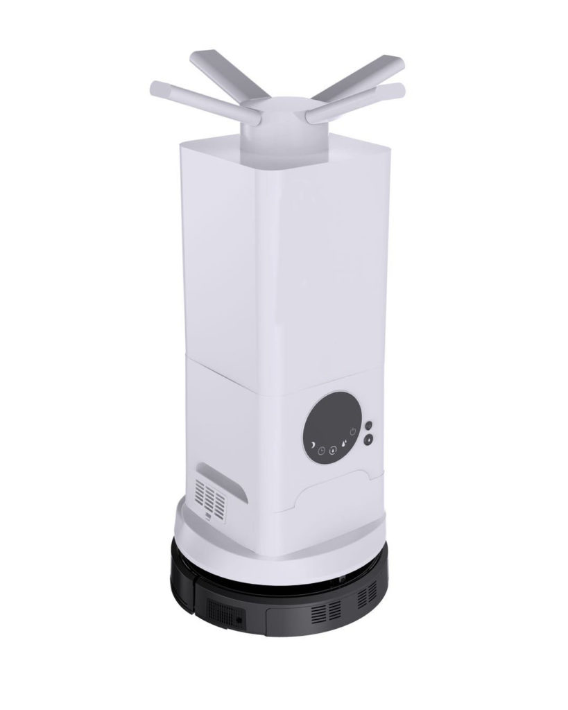Dry Fog Disinfection Robot: SIFROBOT-6.61 model