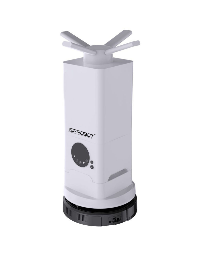 Intelligent Disinfection Robot