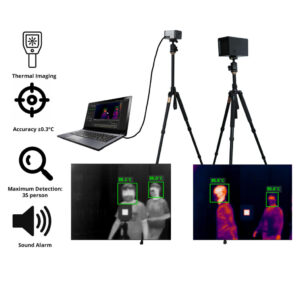 AI Infrared Thermal Camera: SIFROBOT-7.51