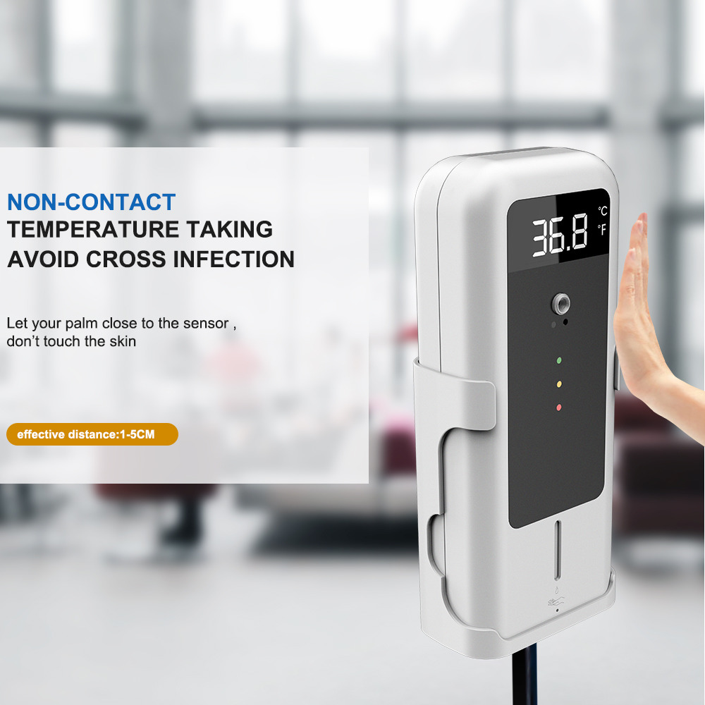 Temperature Detector with Automatic Disinfectant Dispenser: SIFCLEANTEMP-1.4 non contact