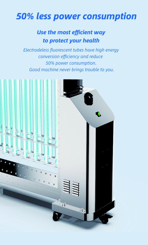 Health protection Mobile UVC Sterilization Lamp