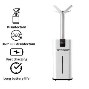 Hypochlorous Dry Fog Sterilizing Atomizer SIFROBOT-8.1