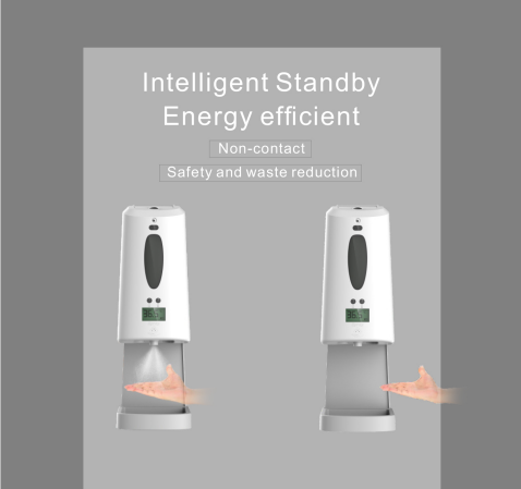 Hand Sanitizer Dispenser & Temperature Checker: SIFCLEANTEMP-1.3 efficient